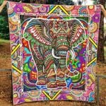 Elephant Ver3 Blanket TH1507 Quilt
