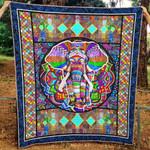Elephant Ver2 Blanket TH1507 Quilt