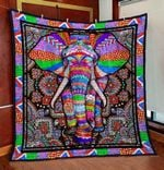 Elephant Ver18 Blanket TH1507 Quilt