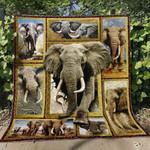 Elephant Ver15 Blanket TH1507 Quilt