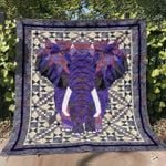 Elephant Ver12 Blanket TH1507 Quilt