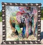 Elephant Ver14 Blanket TH1507 Quilt