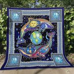 Dolphin Blanket TH1507 Quilt