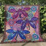 Dragonfly Ver5 Blanket TH1507 Quilt