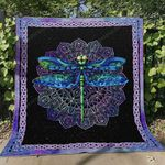 Dragonfly Ver4 Blanket TH1507 Quilt