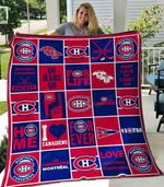 Montreal Canadiens Blanket TH01071 Quilt
