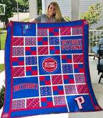 Detroit Pistons V2 Blanket TH0207 Quilt