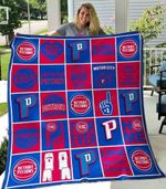 Detroit Pistons Blanket TH0207 Quilt