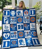 Duke Blue Devils V1 Blanket TH0207 Quilt