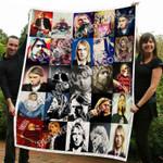 Kurt Cobain Blanket TH11072019 Quilt