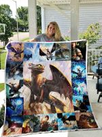 How To Train Your Dragon Blanket TH11072019 Quilt