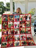 Hallmark Christmas Blanket TH11072019 Quilt
