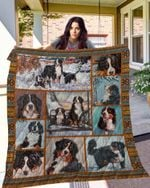 TTL DOG Bernese Mountain Dogs Blanket TH10072019 Quilt