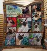 Siamese Cat 09 Blanket TH10072019 Quilt