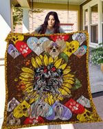 Shih Tzu 15 Blanket TH10072019 Quilt