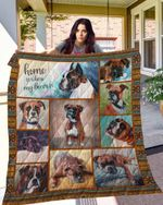 TTL DOG Boxer Blanket TH10072019 Quilt