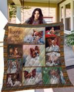 Papillon 10 Blanket TH10072019 Quilt