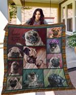 Pug 10 Blanket TH10072019 Quilt