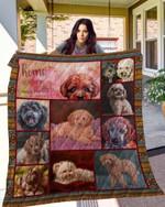 Poodle 10 Blanket TH10072019 Quilt