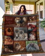 Pekingese 10 Blanket TH10072019 Quilt