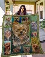 DOG Yorkshire Terrier Blanket TH10072019 Quilt