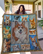 DOG Corgi Blanket TH10072019 Quilt