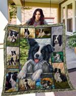 DOG Border Collie Blanket TH10072019 Quilt