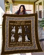 French Bulldogs 09 Blanket TH10072019 Quilt