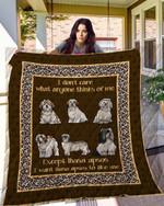 Lhasa Apsos 09 Blanket TH10072019 Quilt