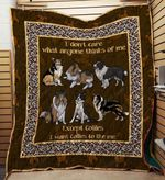 Collies 09 Blanket TH10072019 Quilt
