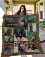 Doberman 10 Blanket TH10072019 Quilt