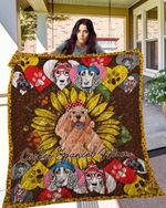 Cocker Spaniel 14 Blanket TH10072019 Quilt