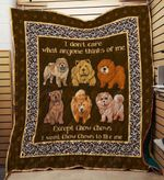 Chow Chows 09 Blanket TH10072019 Quilt