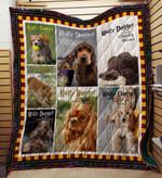 Cocker Spaniel 05 Blanket TH10072019 Quilt