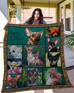 Chihuahua 10 Blanket TH10072019 Quilt