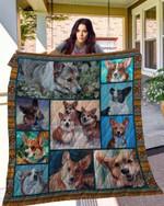 Corgi 10 Blanket TH10072019 Quilt