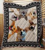 Corgi 03 Blanket TH10072019 Quilt