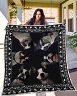 Boston Terrier 03 Blanket TH10072019 Quilt