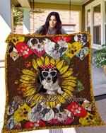 Border Collie 14 Blanket TH10072019 Quilt