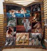 Borzoi 19 Blanket TH10072019 Quilt