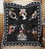 Bernese Mountain Dog 03 Blanket TH10072019 Quilt