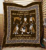 Boxer 09 Blanket TH10072019 Quilt