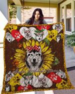 Alaskan Malamute 14 Blanket TH10072019 Quilt