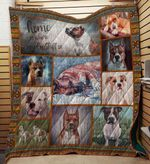 American Staffordshire Terrier 10 Blanket TH10072019 Quilt
