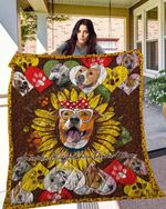 American Staffordshire Terrier 14 Blanket TH10072019 Quilt