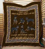 Australian Cattle 09 Blanket TH10072019 Quilt