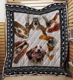 Basset Hound 03 Blanket TH10072019 Quilt