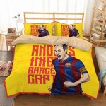 Andr S Iniesta Duvet Cover Bedding Set