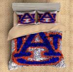 Auburn Tigers Duvet Cover Bedding Set