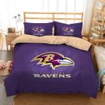Baltimore Ravens 1 Duvet Cover Bedding Set